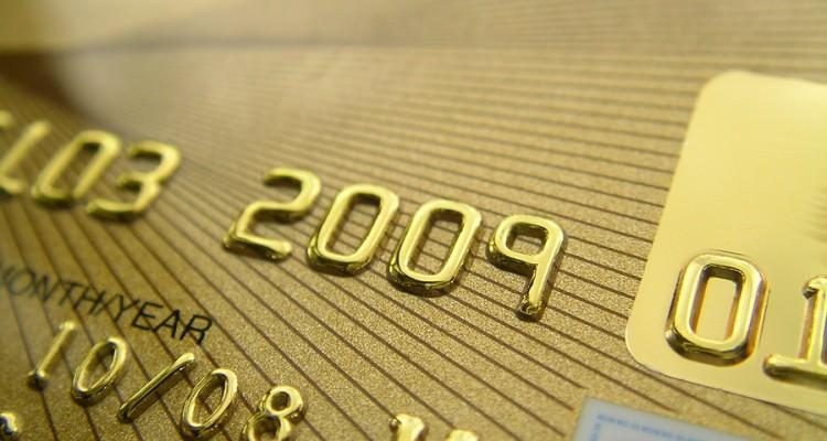 Golden Credit Card